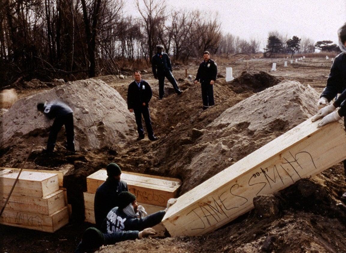 Hart Island, Hart Island Project, mass burial, NYC cemetery