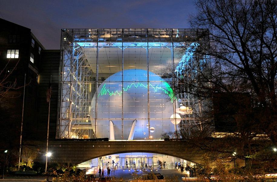 Hayden Planetarium, American Museum of Natural History