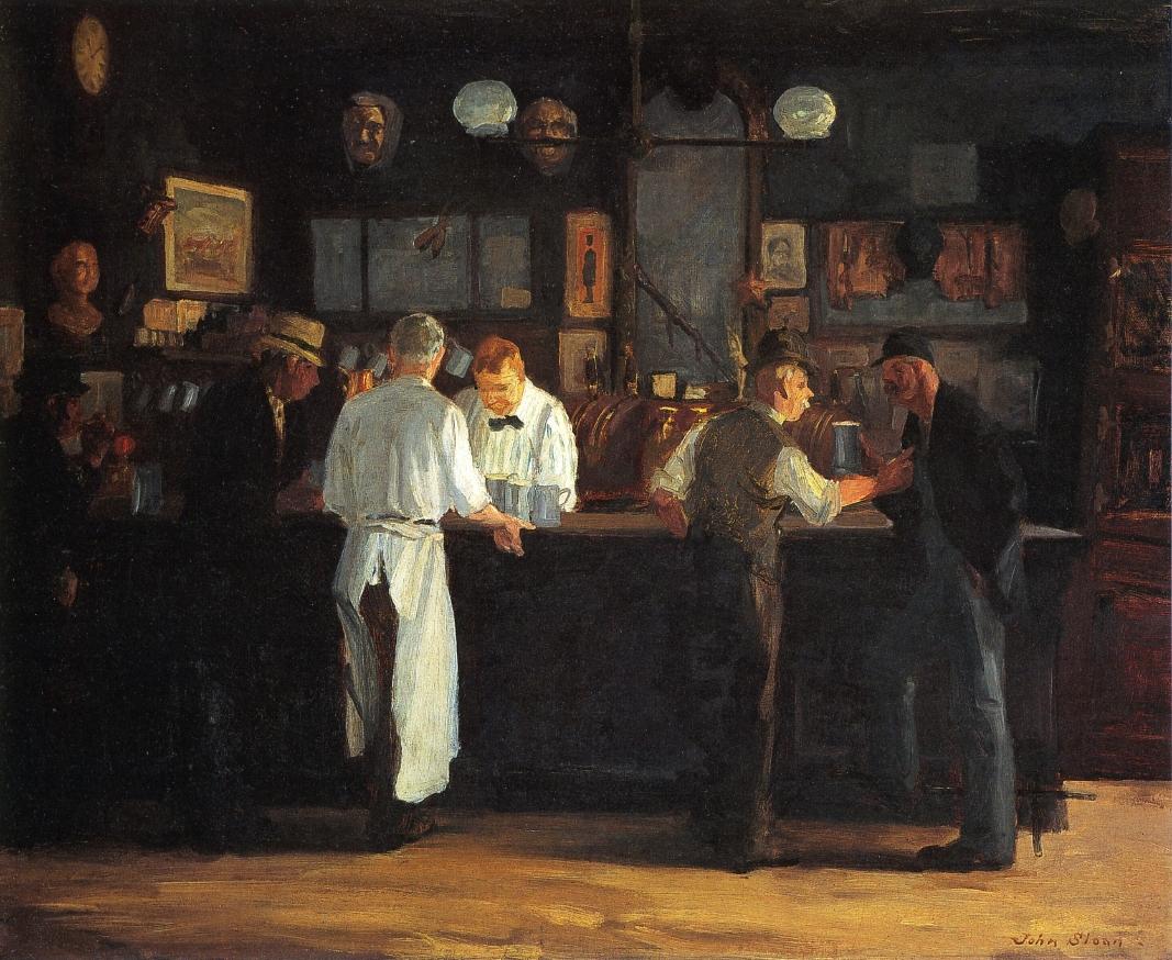 McSorley's Bar by John Sloan