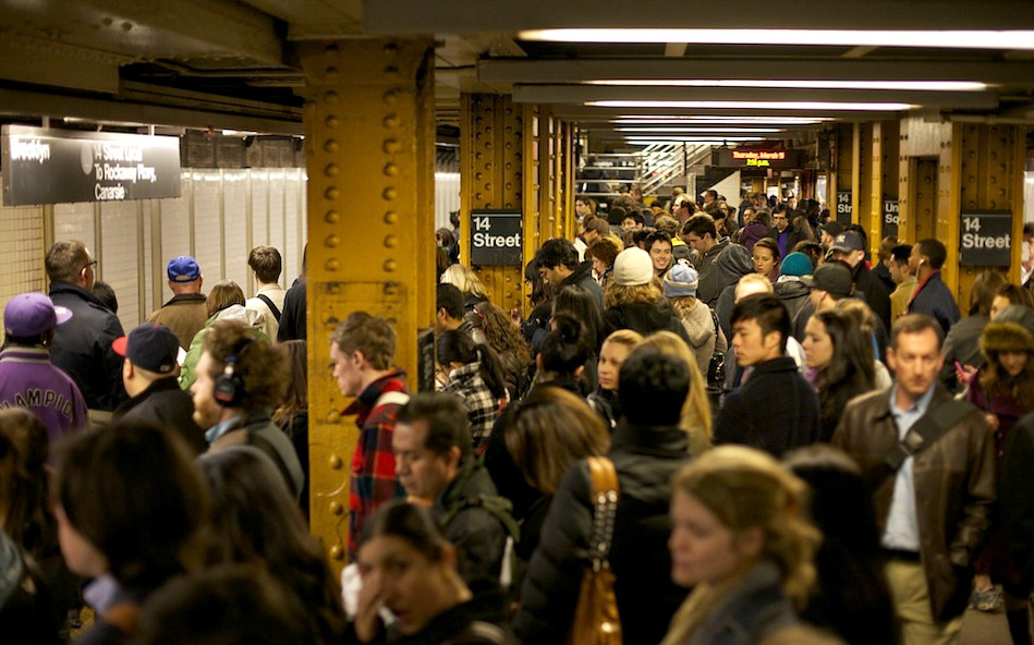 NYC subway commute