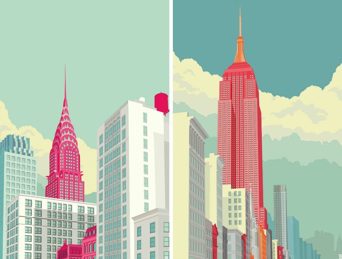 Artist Remko Heemskerk S Graphic Urban Prints Are Inspired