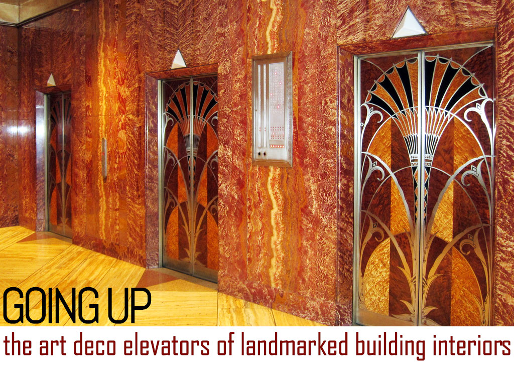Going up uncovering the art deco elevators of landmarked for Famous art deco interior design