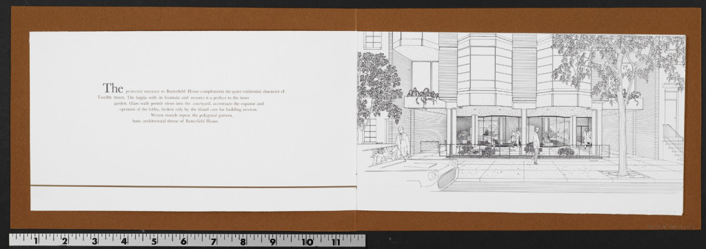 mad men, modern, mid-century, don draper's apartment, high low, butterfield house, west village, upper east side