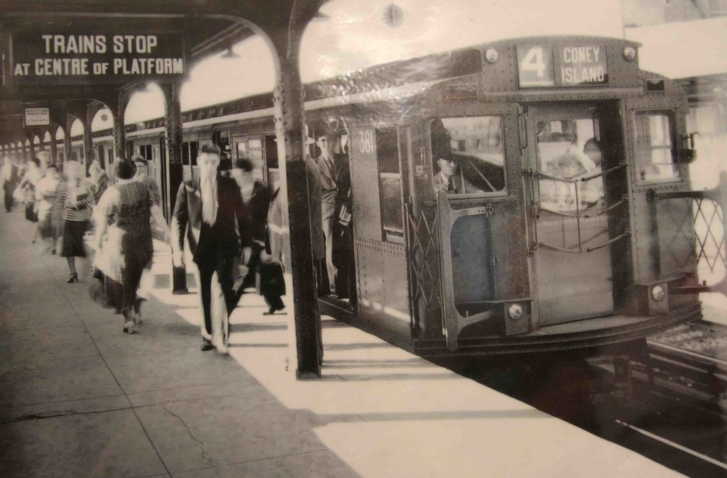 historic nyc subway photo