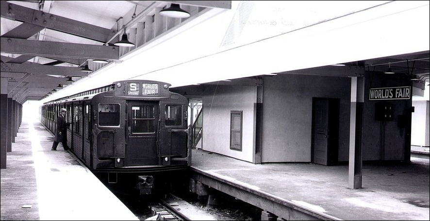 historic nyc subway for the world's fair