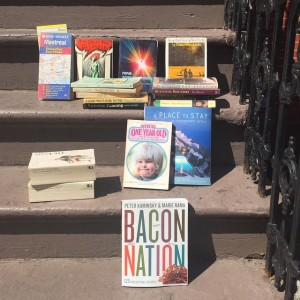 Guess which neighborhood this stoop is in? #bacon #babies #flanneryoconnor…