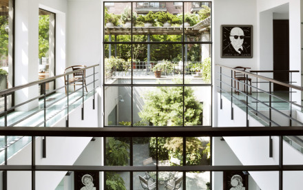 165 Perry Street, Dolly Lenz, glass floors, panoramic views