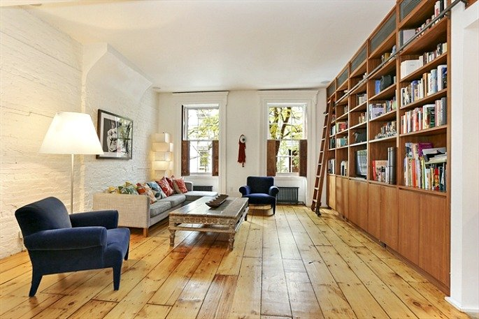 263 East 7th Street, five terraces and a roof deck, garden with trampoline, outdoor shower