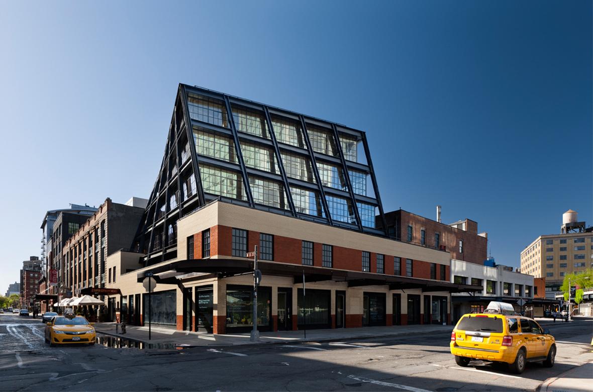 837 Washington Street, Morris Adjmi Architects, Meatpacking District, Samsung building