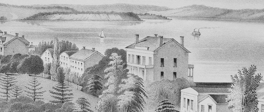 Aurora Inn, Edwin B. Morgan, Inns of Aurora