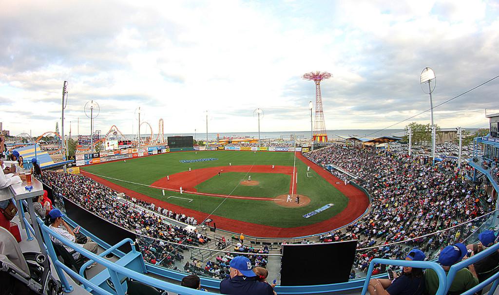 Brooklyn Cyclones, Coney Island, minor league baseball NYC
