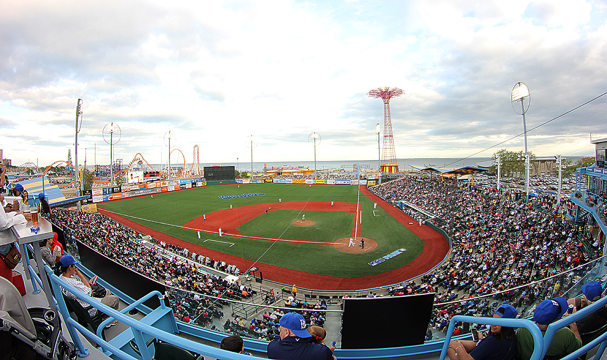 Brooklyn Cyclones, Coney Island, minor league baseball NYC