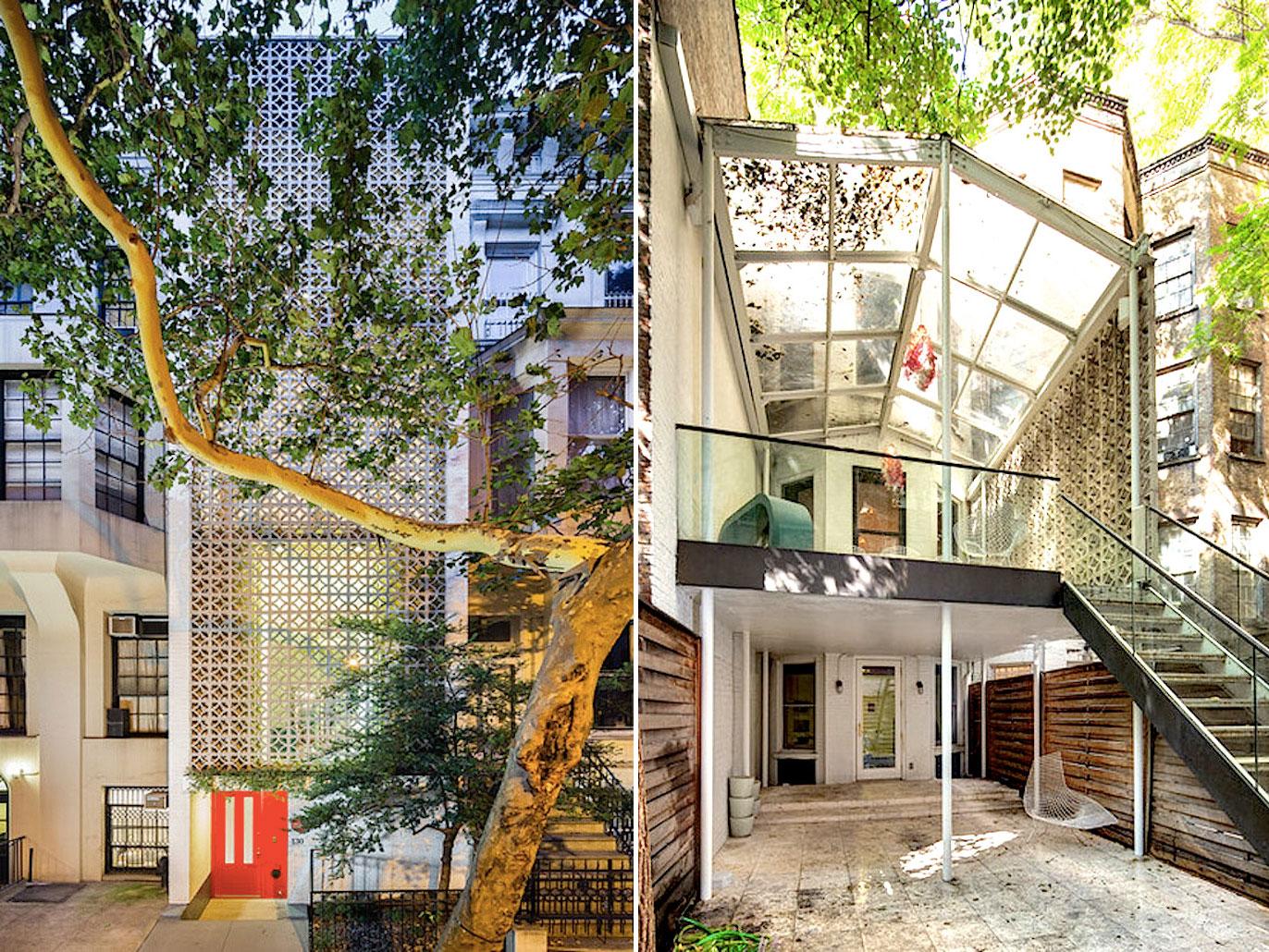 Edward Durell Stone, 130 East 64th Street, Modernist Architecture, Mid Century Modern, Manhattan townhouse, mad men