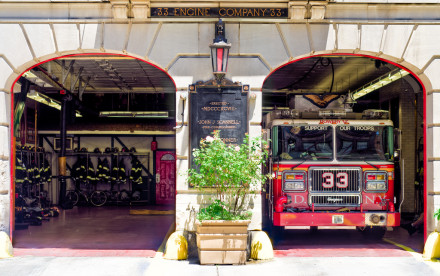Engine 33, FDNY, NYC firehouse