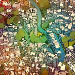 Fantastic Cities, Steve McDonald, adult coloring books