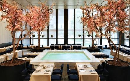 Four Seasons restaurant, Seagram Building, Philip Johnson