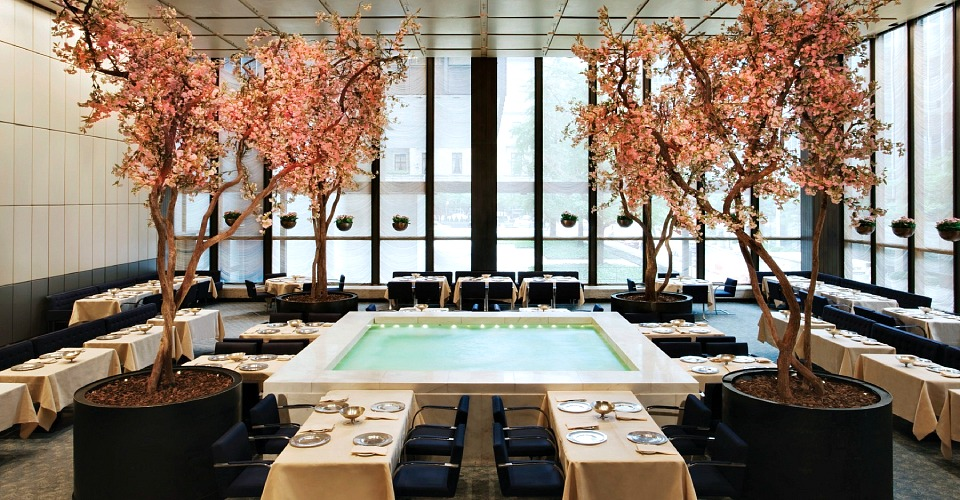 the four seasons an iconic interior landmark faces an