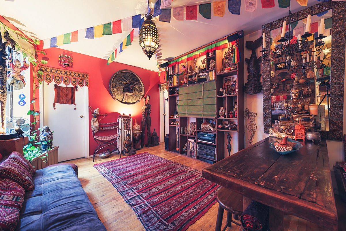 My 500sqft Artist Hector Castaneda Invites Us Into His Spanish Harlem One Bedroom World Museum