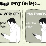 NYC vs. San Francisco, cartoonist Sarah Cooper
