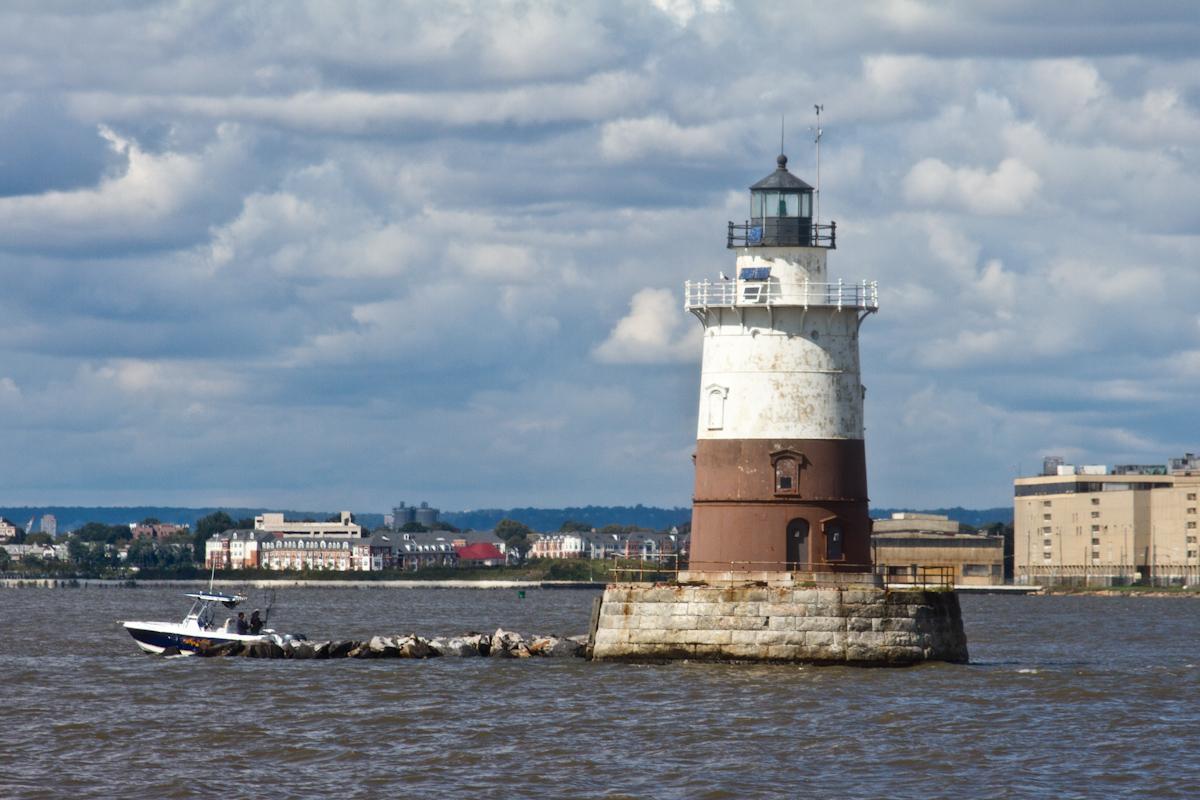 Robbins Reef Lighthouse, secret NYC islands
