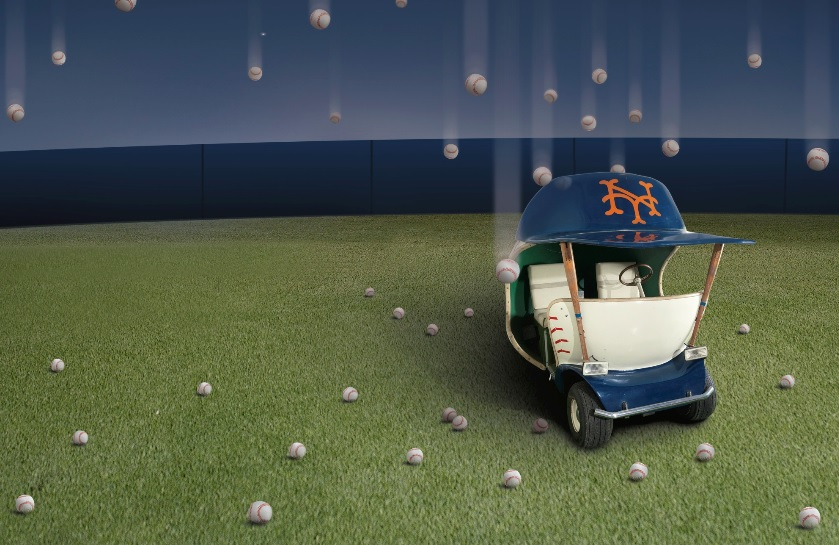 Sotheby's, Mets Bullpen Cart, The New York Sale auction