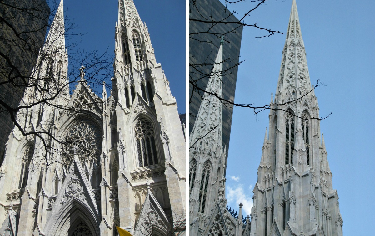 St. Patrick's Cathedral, NYC landmarks, James Renwick Jr.