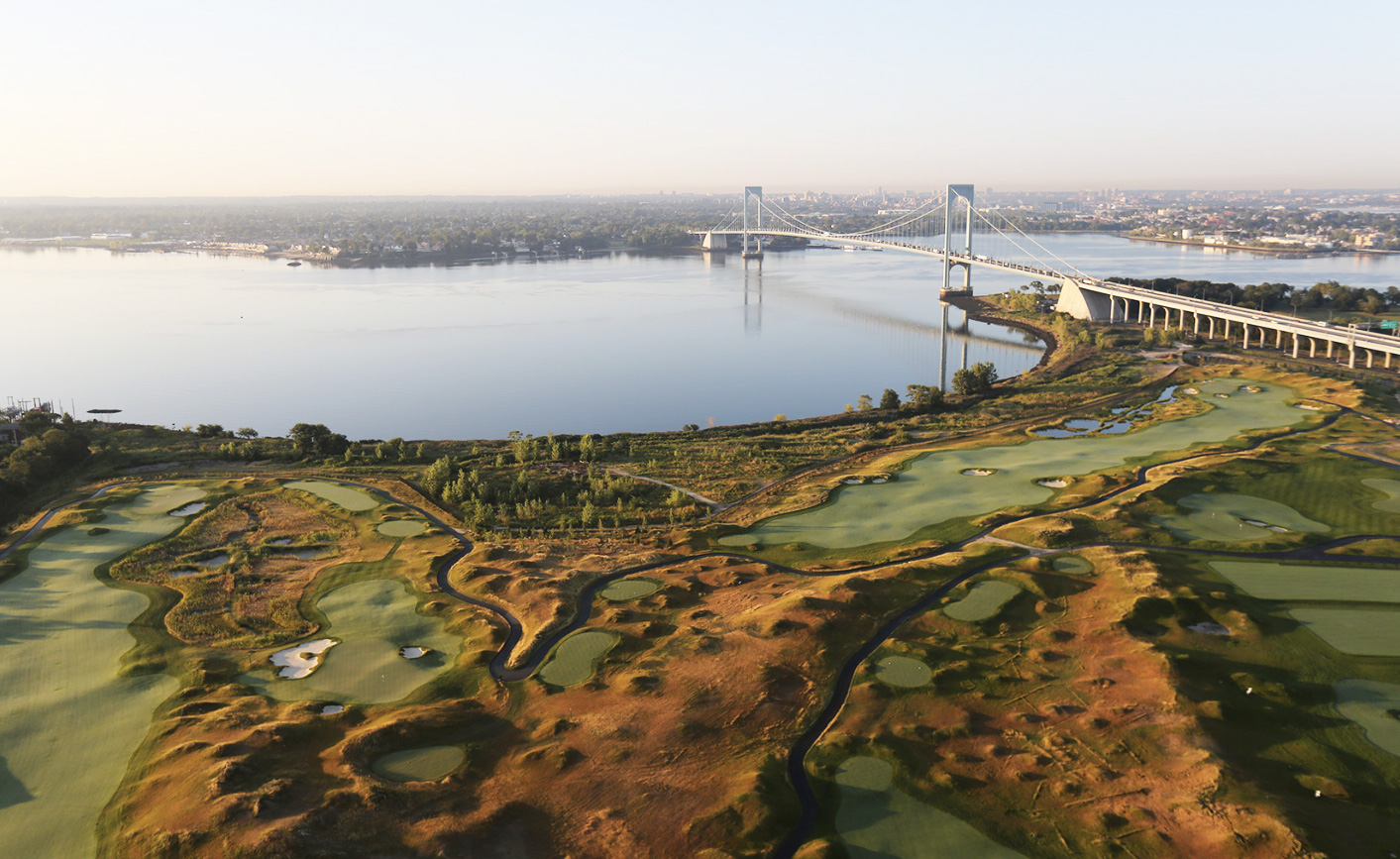 Donald Trump's New Luxury Golf Course Opens Atop a Former ...