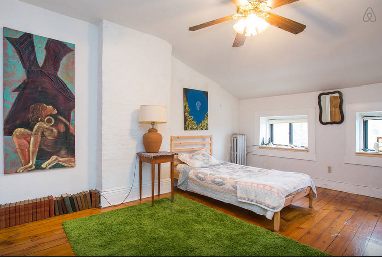 bed-stuy brownstone attic apartment, bed-stuy brownstone, attic apartment, nyc attic apartment, brooklyn attic apartment