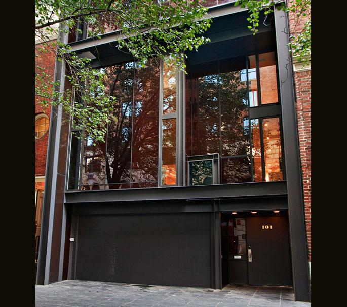 101 East 63rd Street, Paul Rudolph, Ginsbern, Modernist architecture, Manhattan townhouse, Mad Men,