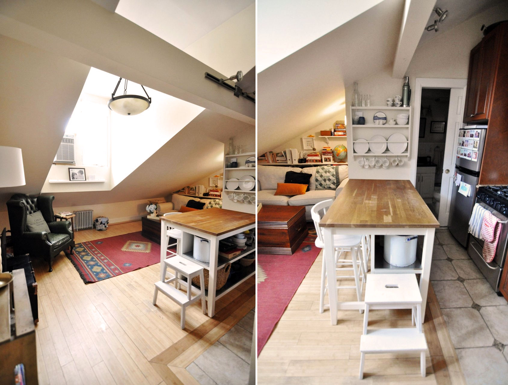 Awesome attics inside the other penthouses of new york for How much to buy an apartment in nyc