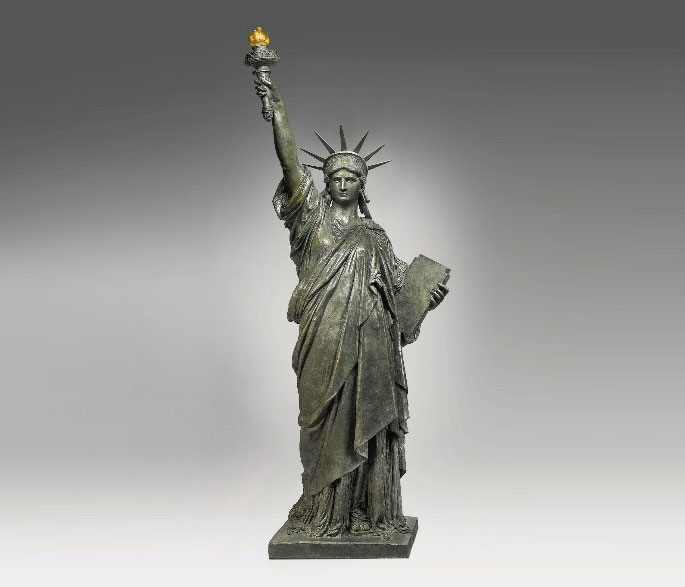 Sotheby's, The New York Sale auction, Bartholdi, Statue of Liberty model