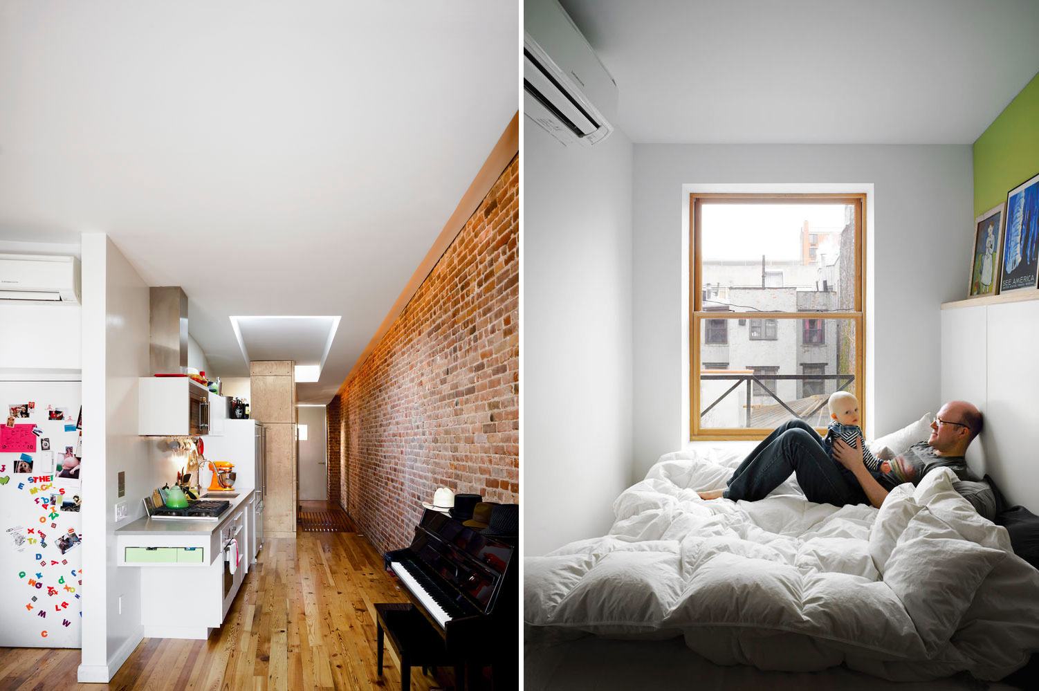 A Family Of Four Squeezes Into This Tiny 640 Square Foot