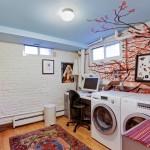 110 Clinton Avenue, laundry, garden apartment