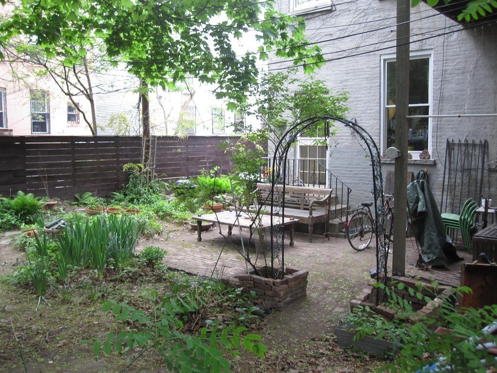 110 Clinton Avenue, garden, apartment, Brooklyn
