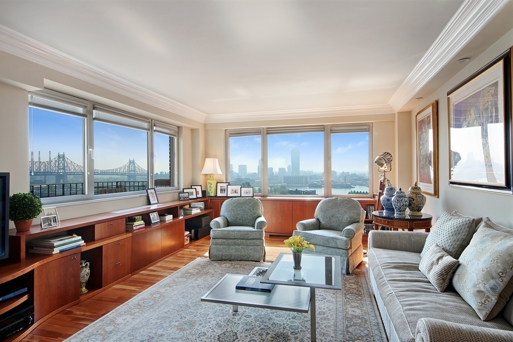 12 beekman place, 25 beekman place, high low, great listings, east river views, nyc apartment, living room