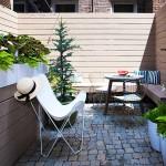 175 Bleecker Street, Washington Square Park, private landscaped garden, cobblestones