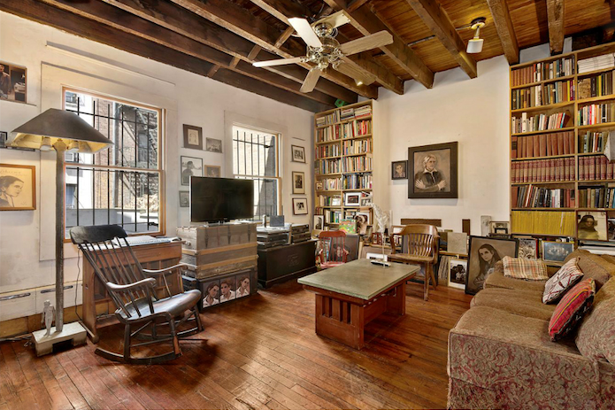 Gorgeous West Village Carriage House Boasts A Lovable Interior With