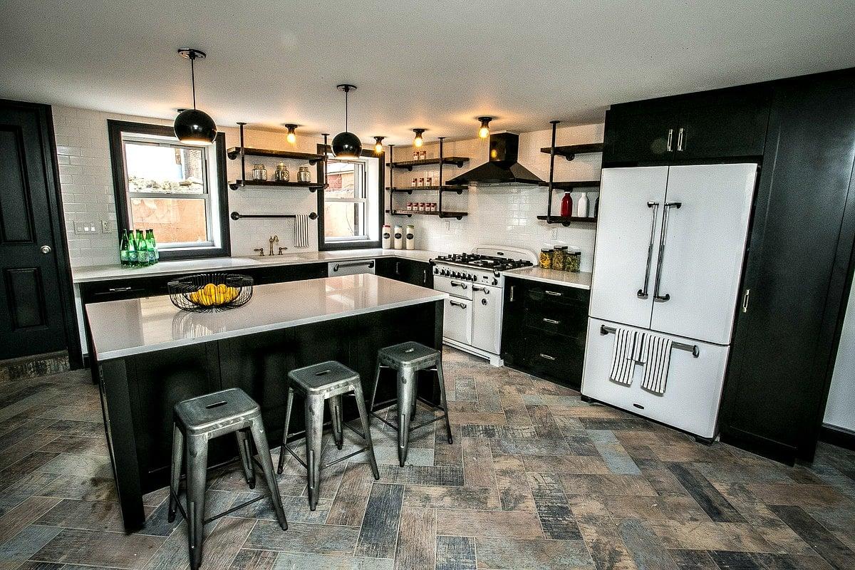 296 Manhattan Avenue, kitchen, townhouse