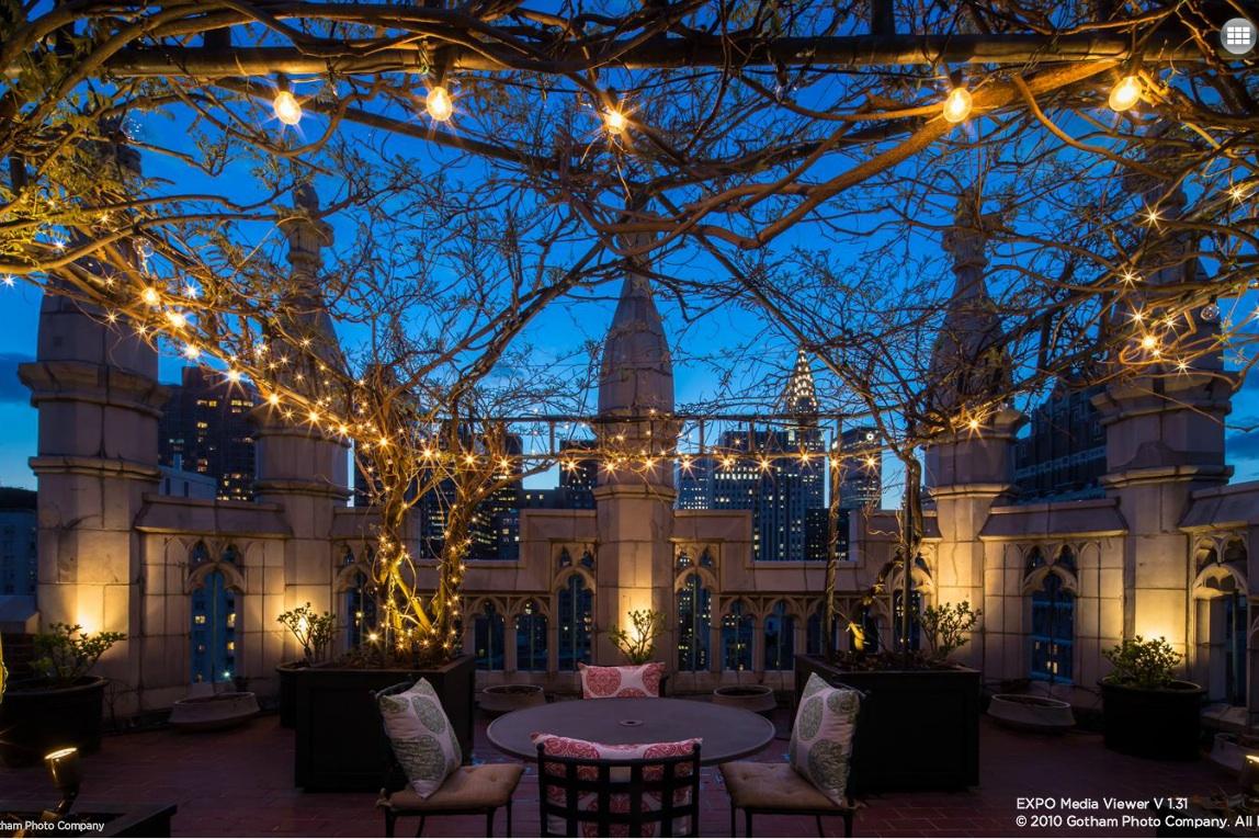 5 Tudor City, penthouse, patio