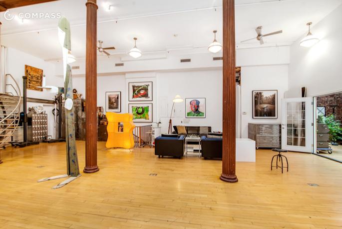 81 Walker Street, live/work space, studio level electrical amperage