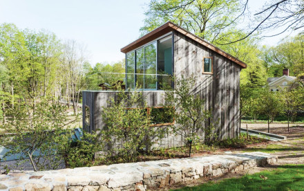 Architect Sharon Davies' new home at the Old Albany Post Road