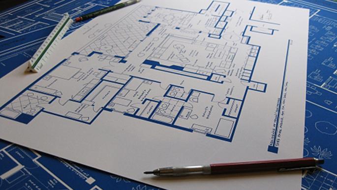 Fantasy Floorplans, Don and Megan Draper apartment, Mad Men locations