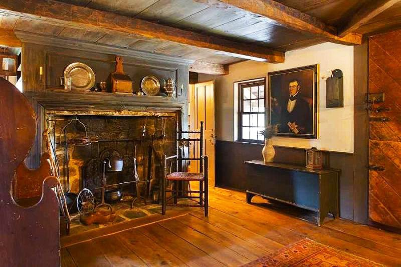 Be the third owner ever of this 18th century dutch house for 18th century farmhouse interiors