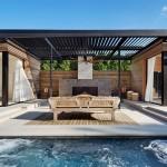 Hamptons pool house, ICRAVE, Amagansett