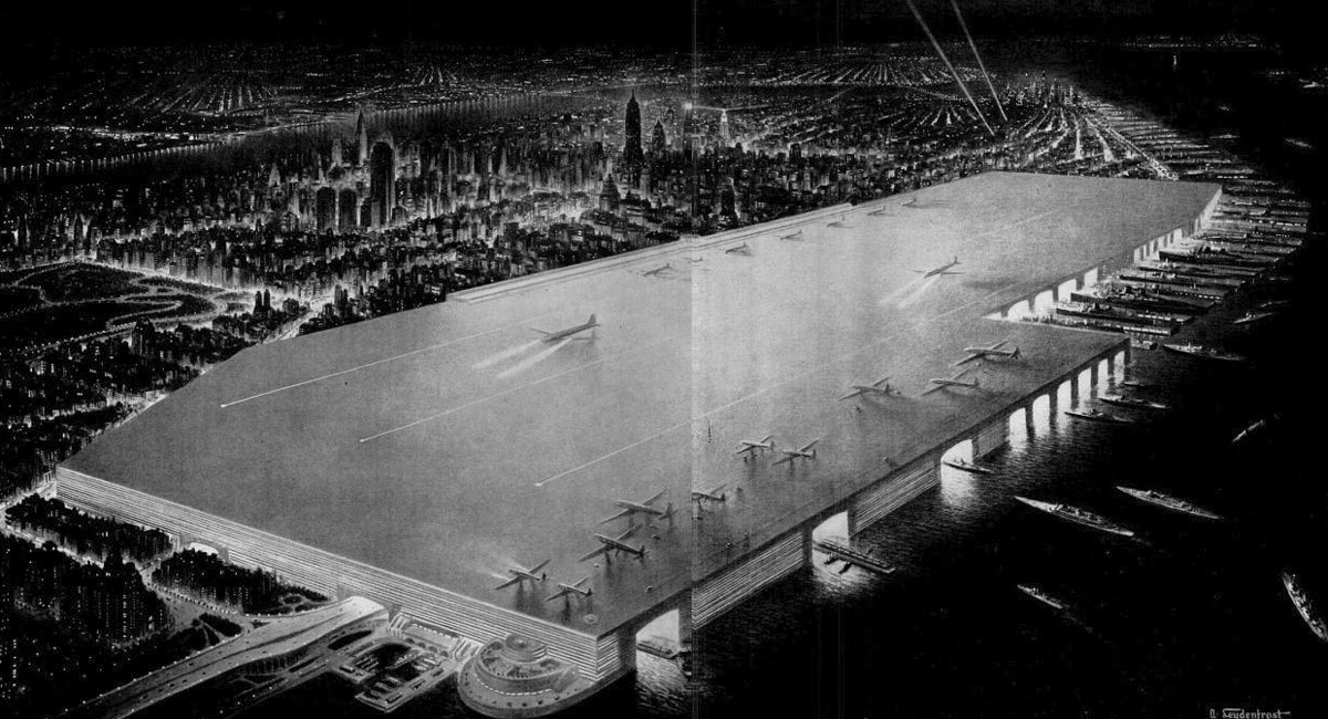 Nyc S 1940s Dream Airport Would Have Been On A Giant