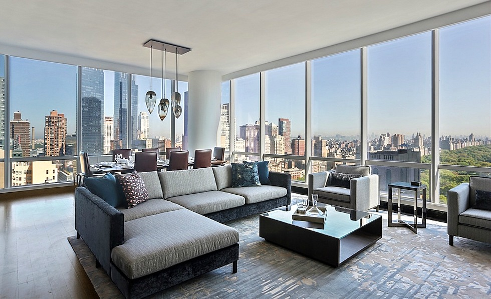 Fully furnished rentals launch at one57 6sqft for New york central park apartments for sale