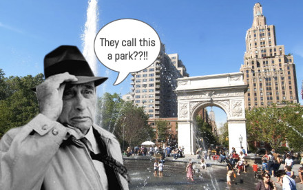 Robert Moses, Washington Square Park