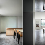Minimalist Renovation, Thomas Phifer, Jill Sander's CEO, Fifth Avenue Apartment, Constance Darrow, and her husband Angelo Lombardi, ultra minimalistic home, ultra modern, Whitney Museum of American Art, Jean Prouvé, Jean Royère.