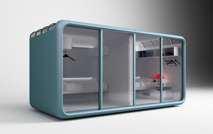 cannondesign, -7x7x7 pods, university of utah living experiment