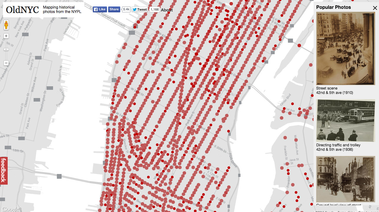 New York Public Library Releases Interactive Map Of Its